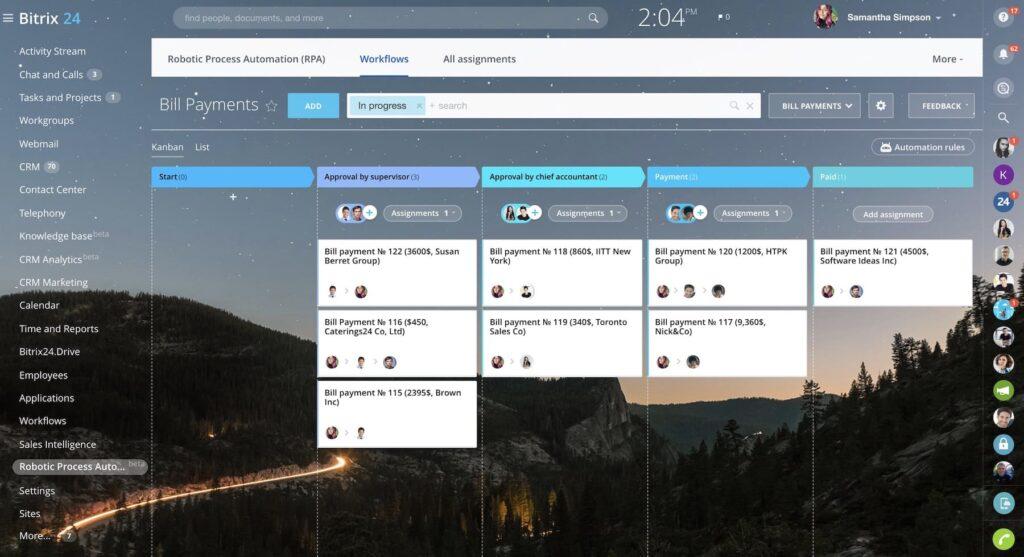 Bitrix24 CRM ürün görseli ankara globalnet