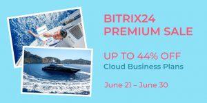 Bitrix24 Premium Discount