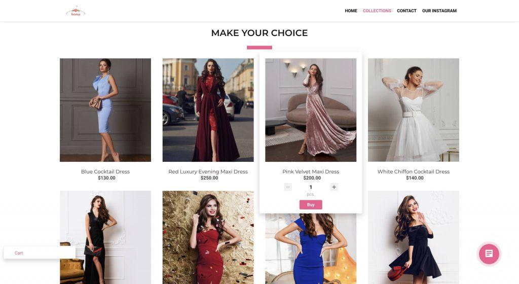 Bitrix24 online store