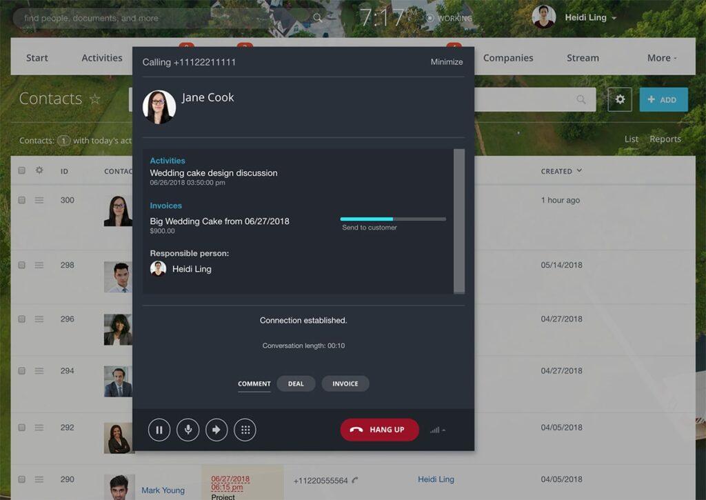 Bitrix24 CRM VOIP globalnet