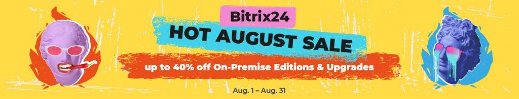Bitrix24 Hot agust sale banner