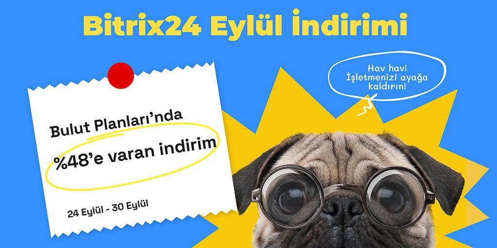 Bitrix24 Eylül İndirimi